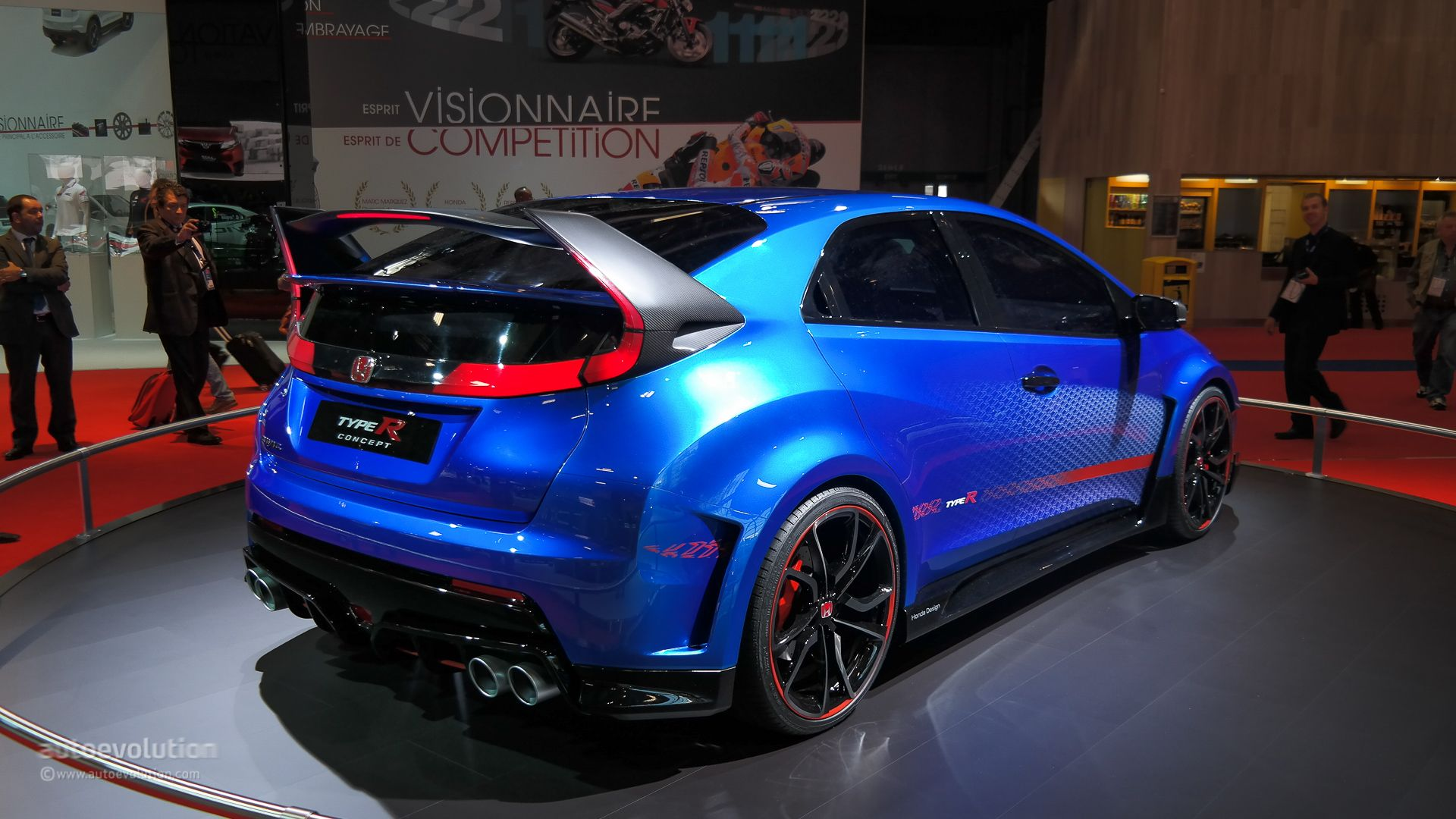 Beau These Are The Latest Pictures Of The All New Honda Civic Type R Ahead Of  Its Launch In 2015