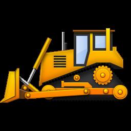 yellow bulldozer icon png clipart image iconbug com birthday rh pinterest com dozer clip art free images caterpillar dozer clipart