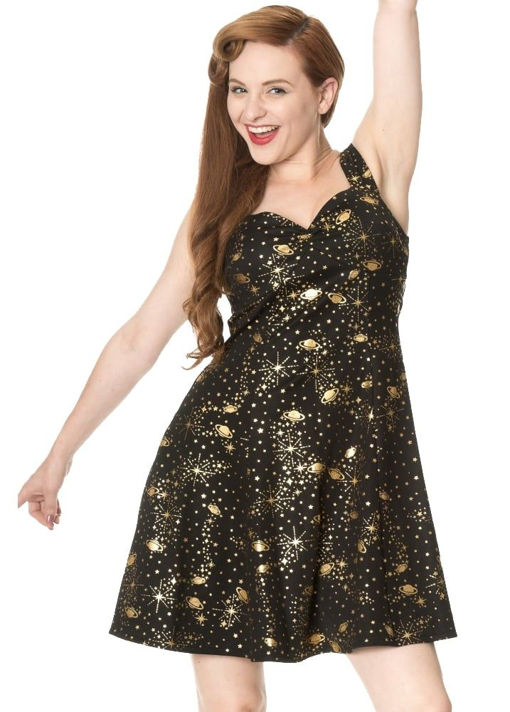 d625f617f3e Banned Apparel Out Of This World Sweetheart Dress