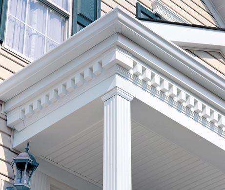 Porch With Dentil Molding Google Search Dentil Moulding House Trim Classic House Exterior
