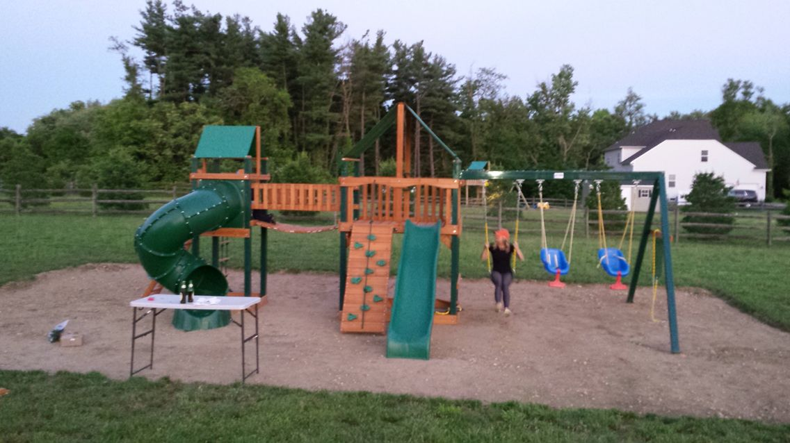 6 9 Gorilla Savannah 2 Playset Assembled In Swedesboro Nj Gym And
