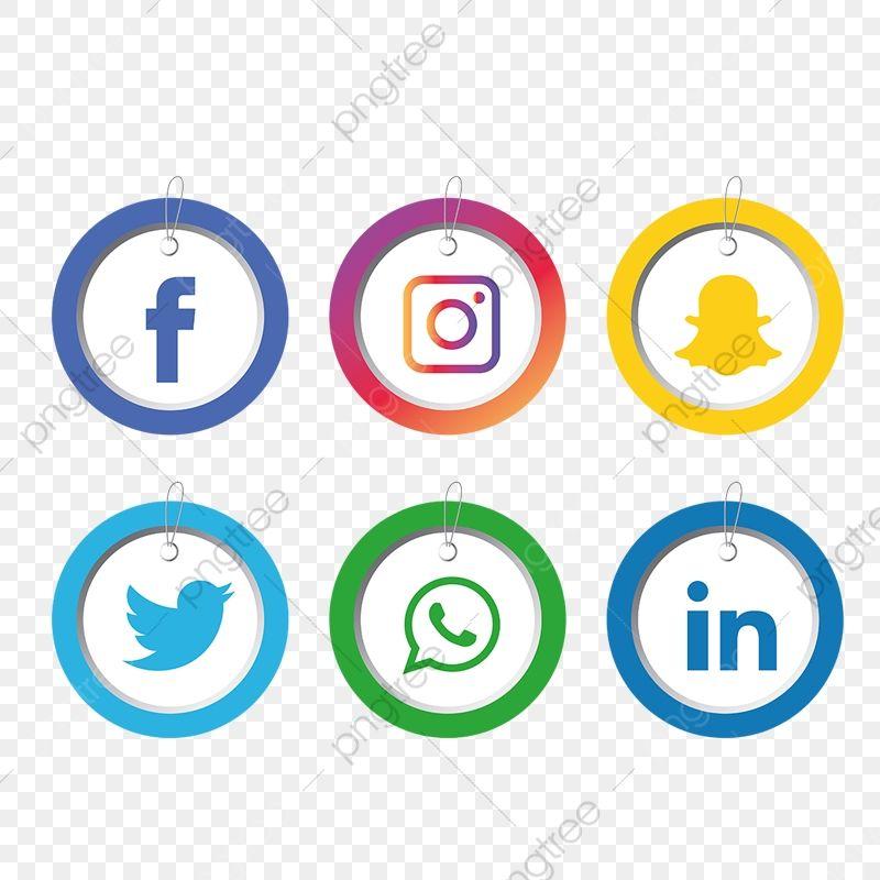 مجموعة أيقونات وسائل التواصل الاجتماعي وسائل التواصل الاجتماعي المرسومة الرموز الاجتماعية الأيقونات وسائل الإعلام Png والمتجهات للتحميل مجانا Social Media Icons Media Icon Social Media