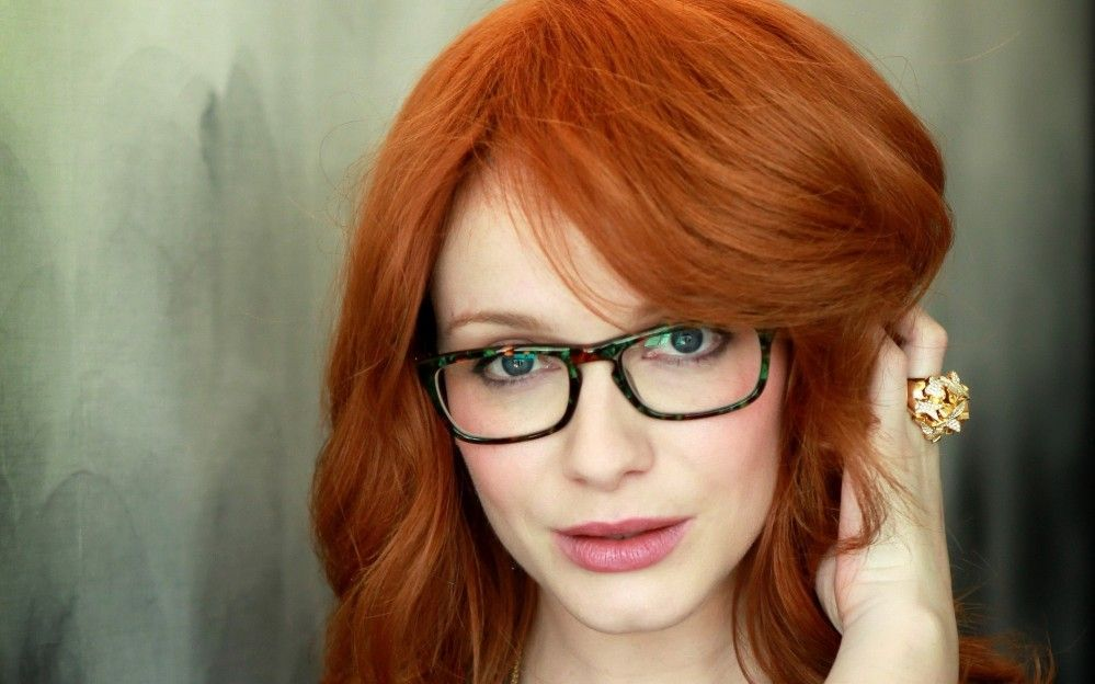 Redheads with glasses would like