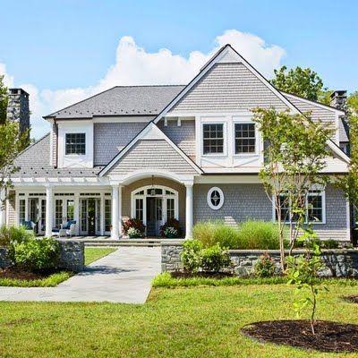 New England Shaker Style House