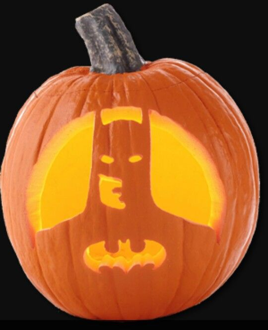 Batman Pumpkin Carving Halloween Pinterest Batman
