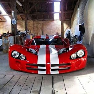Handbuilt Widebody Viper Fast Cars Cool Cars Sports Car