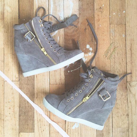 Steve Madden Wedge Sneakers   Steve