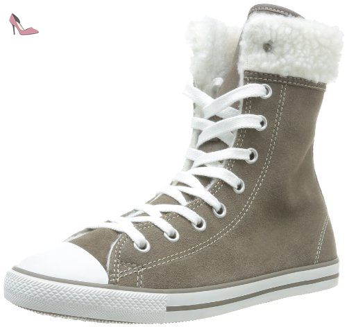 converse femme beige taupe