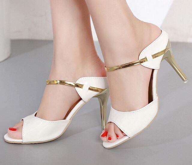 Costbuys Women Pumps High Heelold Thin Heels Summer Women