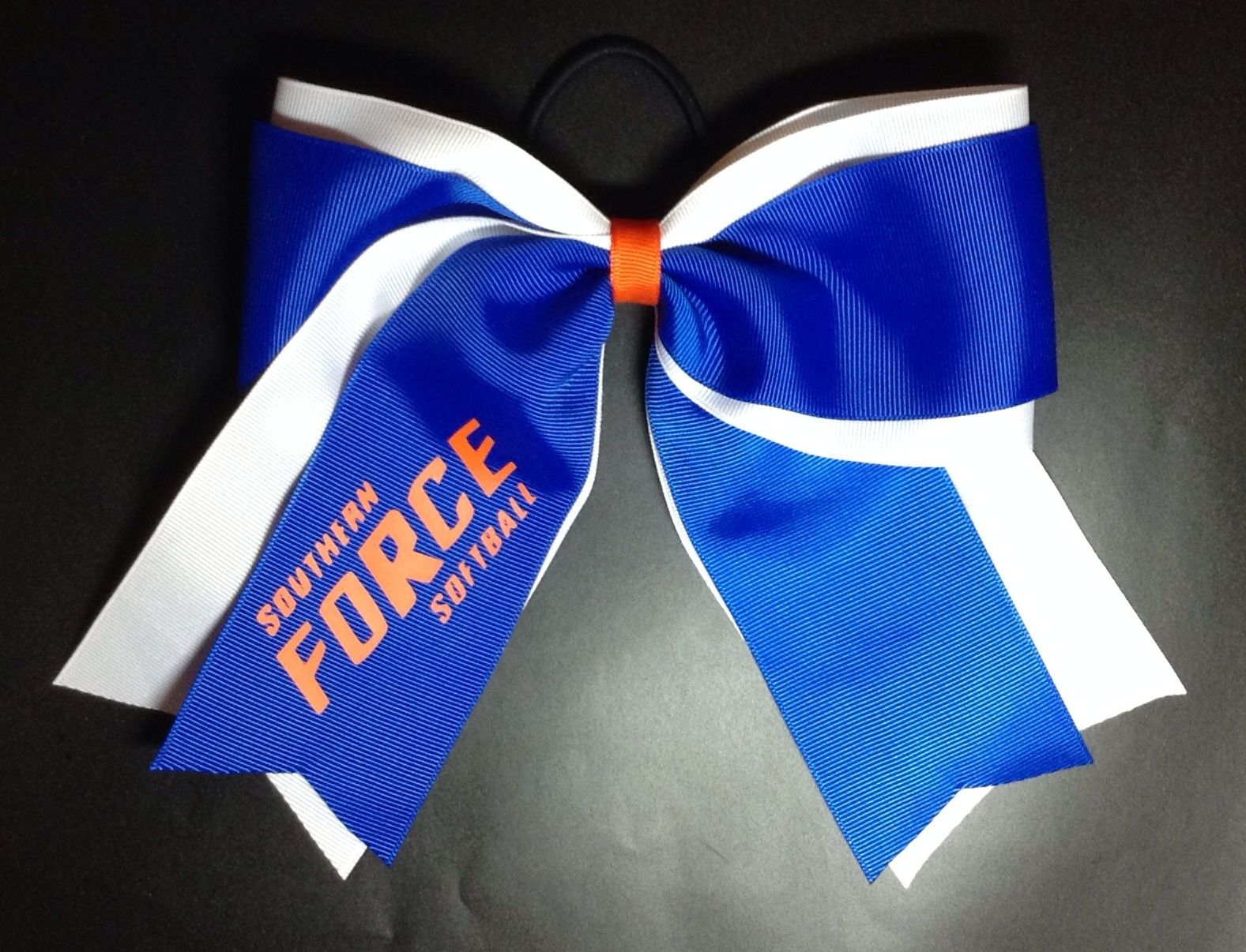 Southern Force Fastpitch Softball Hair Bow Softball Hair Bows Softball Hairstyles Fastpitch Softball