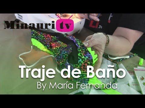 #DIY - Cómo hacer un #Traje de baño - How-to make a #swimsuit by María Fernanda