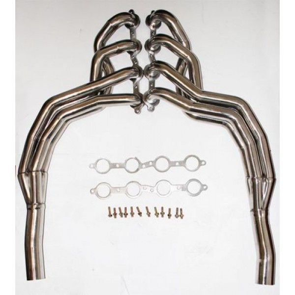 2010 13 Chevy Camaro 6 2l Stainless Steel Long Tube Headers 1 3 4 Fits Factory Chevy Camaro Camaro Chevy