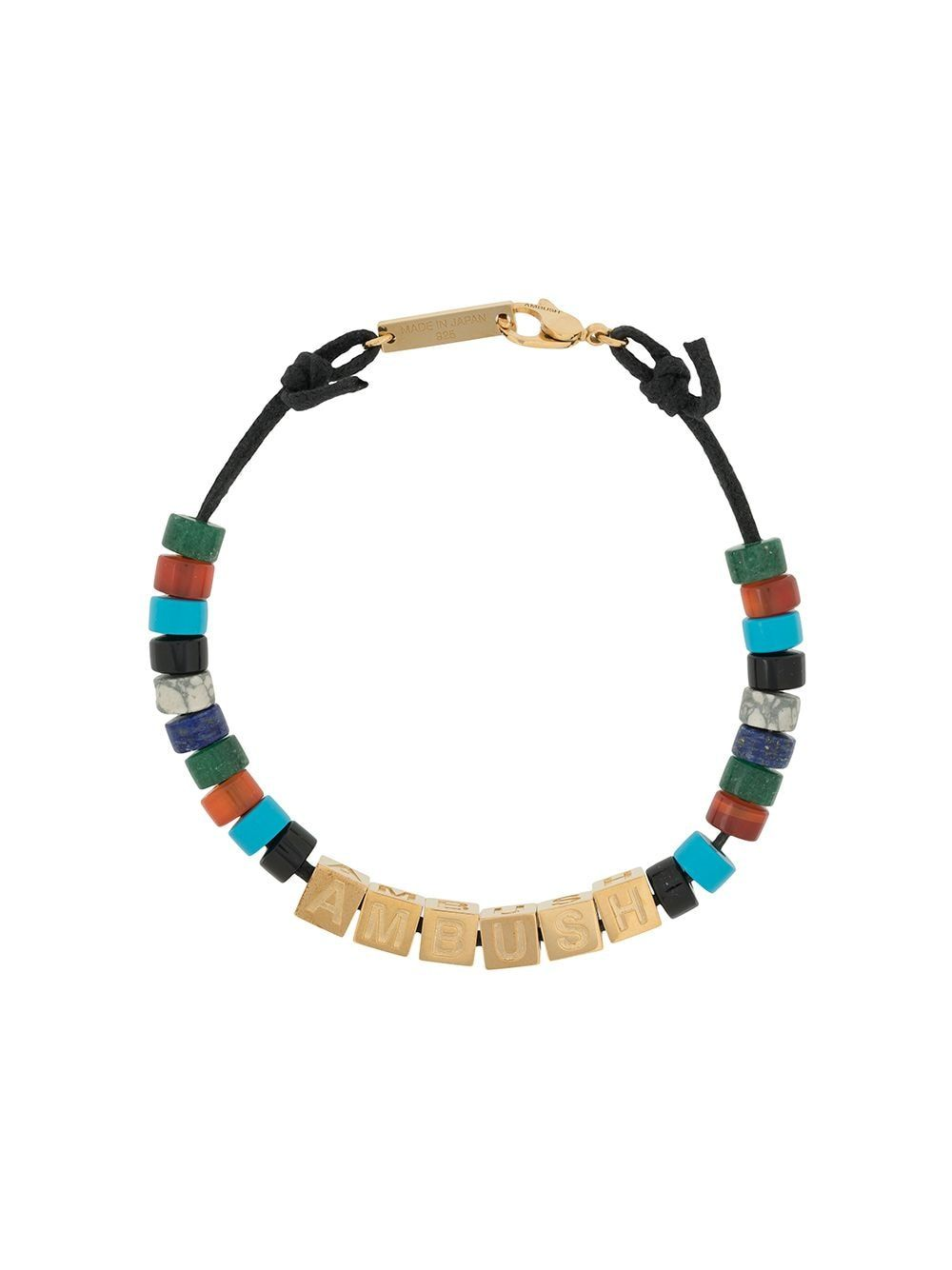 african beads Handmade beaded bracelet one of a kind adjustable size wood beads
