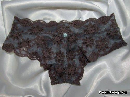 Женское белье своими руками