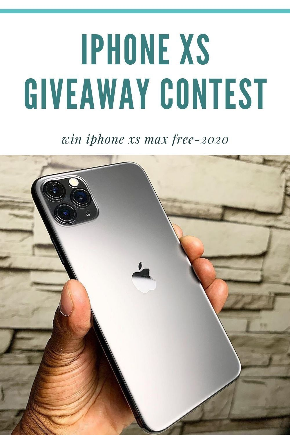 Giveaway Contest 2020 Iphone Xs