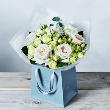 Foundation scented rose gift bag Birthday flowers Waitrose