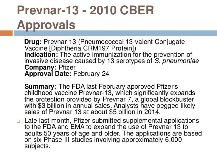 Pneumococcal Valent Conjugate Vaccine Diphtheria Crm
