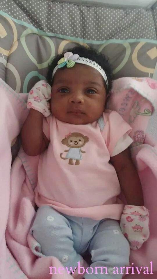 Daddies Girl Baby Girl Newborn Cute Black Babies Black Baby Girls