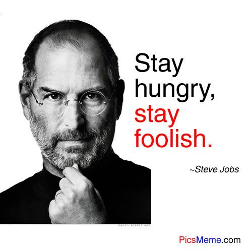 "motivation by steve jobs essay Free essay: ""you've got to find what you love,"" i completely agree with steve jobs  everyone searches for happiness and what they live for he had gone."