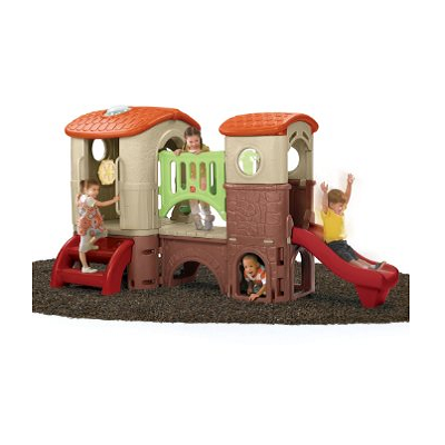 Clubhouse Climber Playhouse - a complete off the ground playhouse for kids