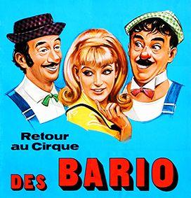 Les Bario, clowns vedettes, entraient en piste, et tout de suite, c'était la fête !