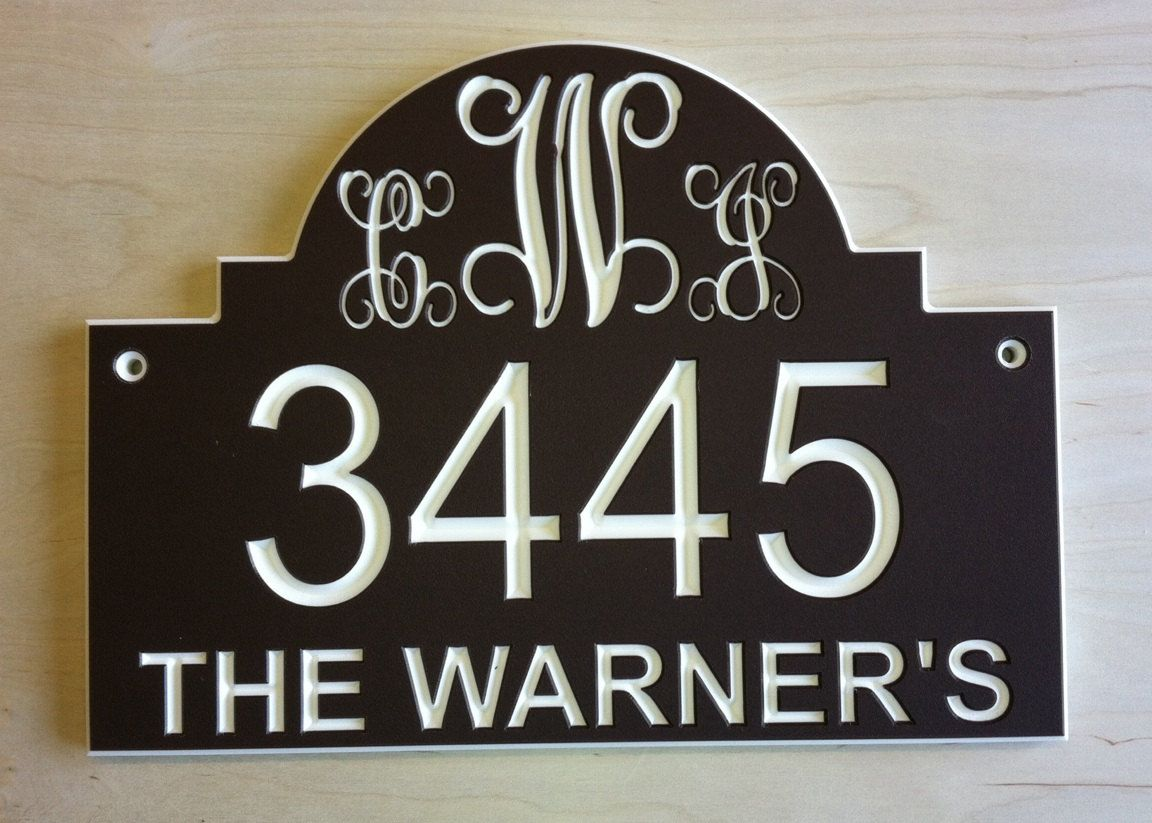 CUSTOM LETTERS SIGN PLAQUES SIGNS PLAQUE ENGRAVED DOOR  NUMBERS