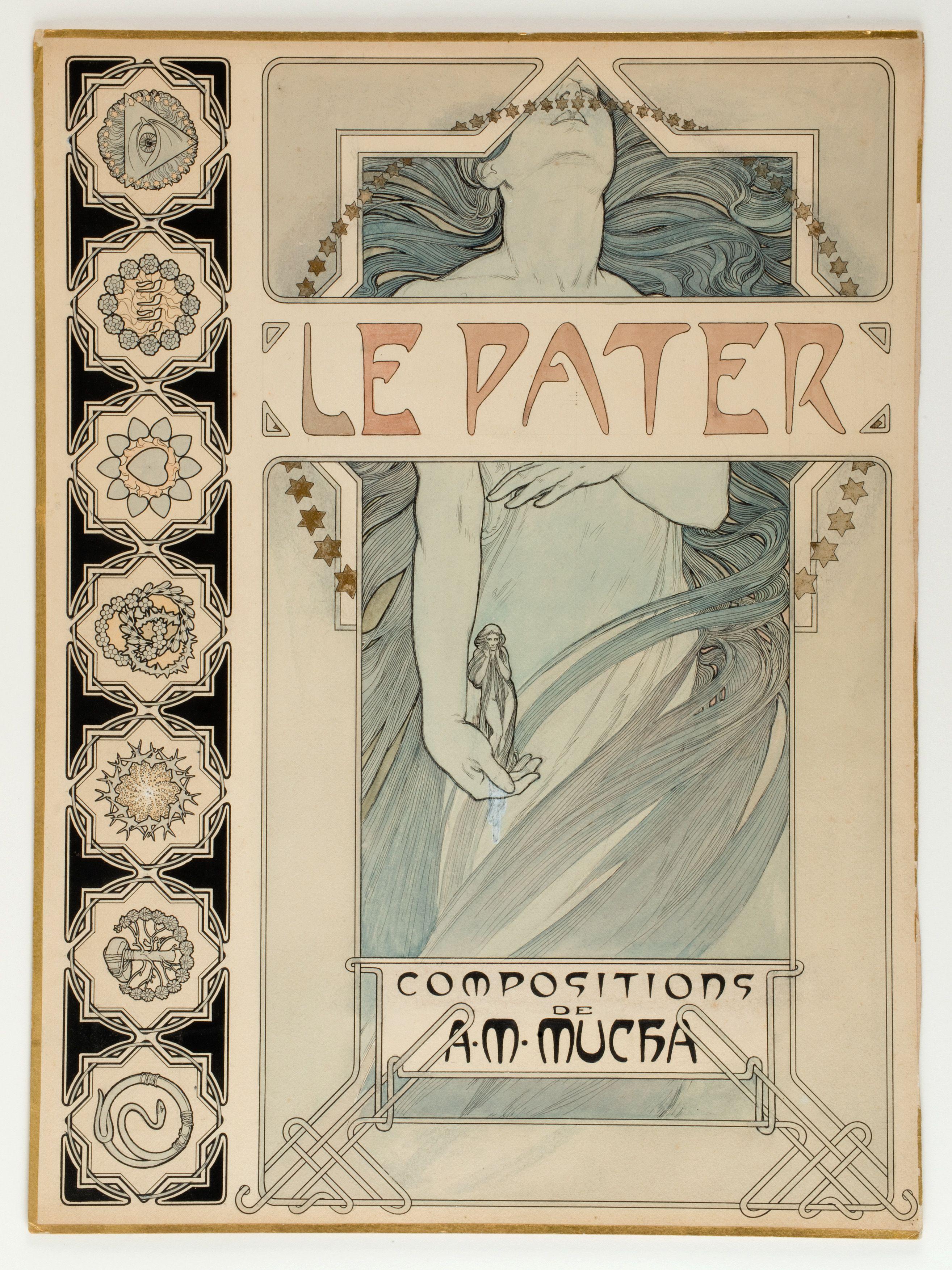 Art Nouveau - MUCHA (Alfons): ~Le Pater~