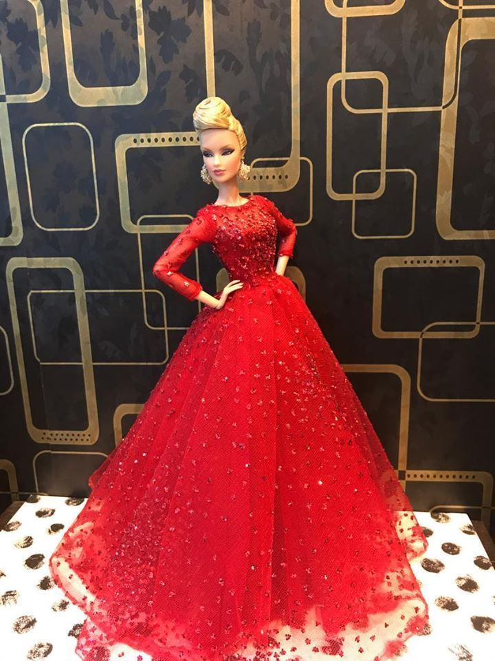 New Evening dress 8/2/2 for Fashion royalty  / silkestone  by t.d.fashion  #tdfasiondoll