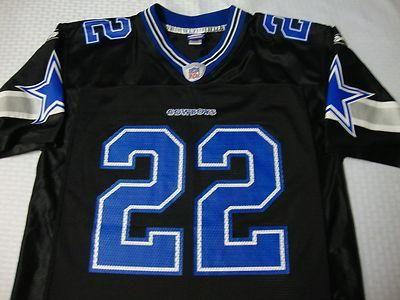 Dallas Cowboys NFL football Emmitt Smith jersey vintage Black ...