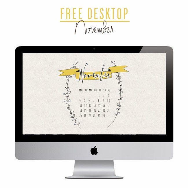 *ann.meer: Free November Desktop!