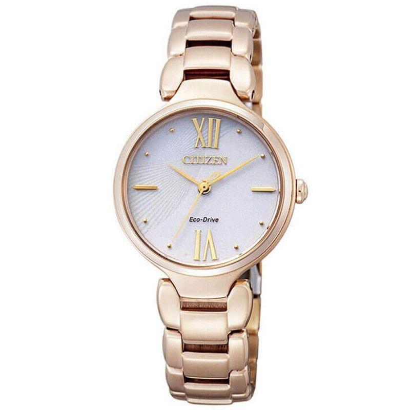 Reloj Citizen Eco Drive Mujer Em0022 57a Relojes Citizen Mujer Relojes Citizen Reloj Reloj De Oro