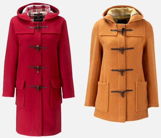 gloverall women's duffle coat. if i had 250 pounds, i would so buy ...