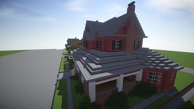 Red Old Mansion