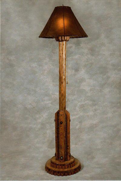 Floor Lamp By T B Mccoy Western Designs Lamp Western Design