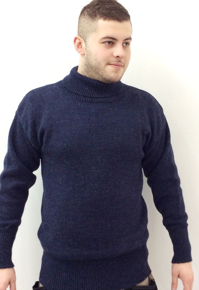 Made in Great Britain Submariner Sweater 100/% British Wool with Free Delivery