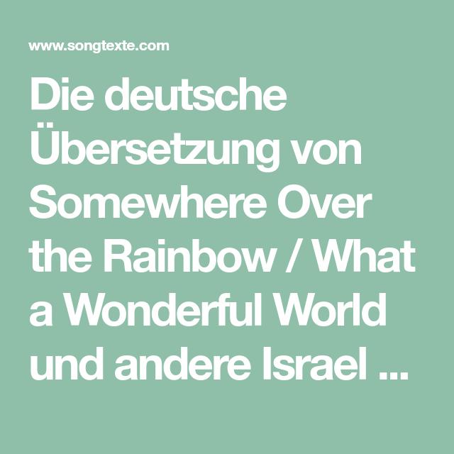 Somewhere Deutsch