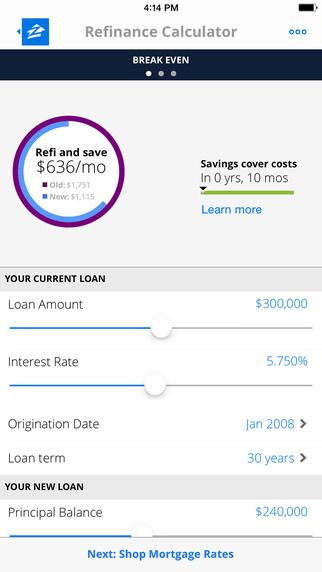 Zillow Mortgages - Calculator \ Home Loan Rates by Zillow UX - loan interest calculator