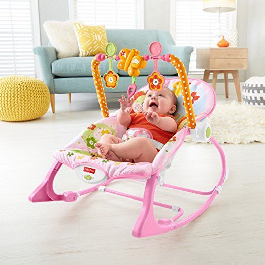 Amazon com fisher price infant to toddler rocker bunny infant bouncers