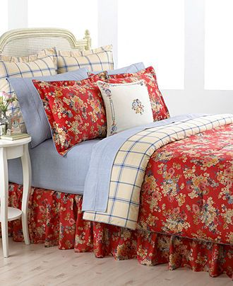 Lauren Ralph Lauren Bedding Madeline Comforter And Duvet Sets
