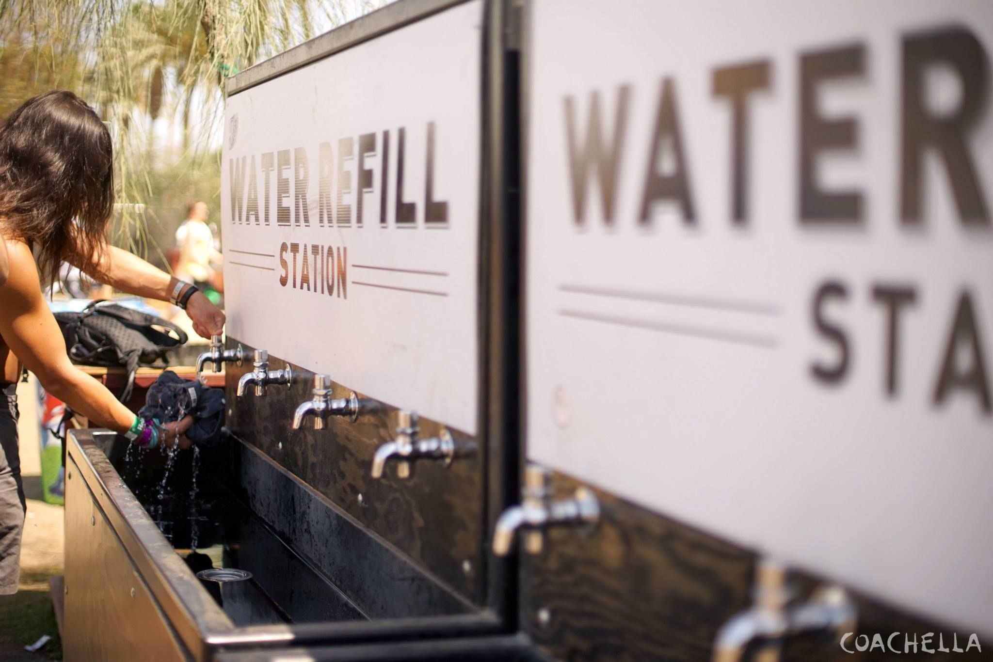 Coachella // Press // Environment // Water Refill Stations