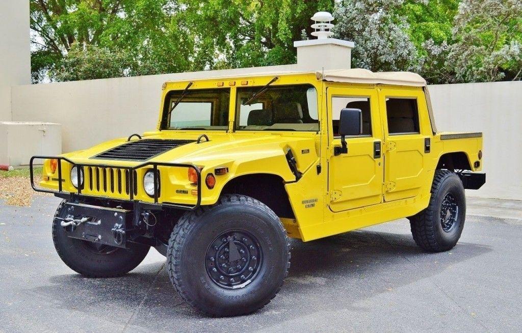 1997 Hummer H1 Hummer h1, Hummer, Hummer cars