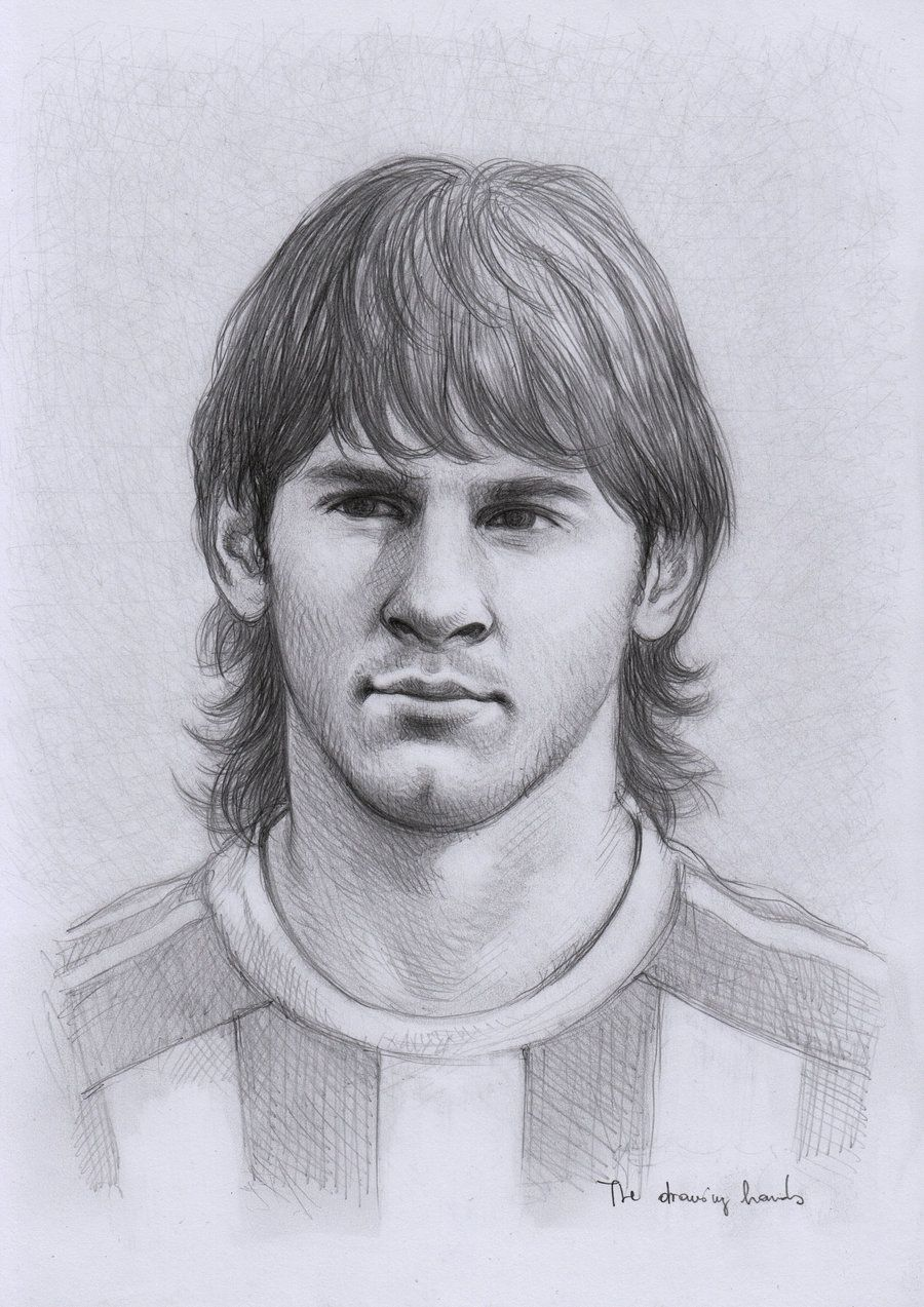 Lionel Messi by thedrawinghandsdeviantartcom on deviantART