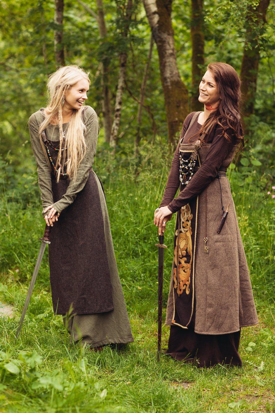la mujer vikinga era la guardiana de las tradiciones