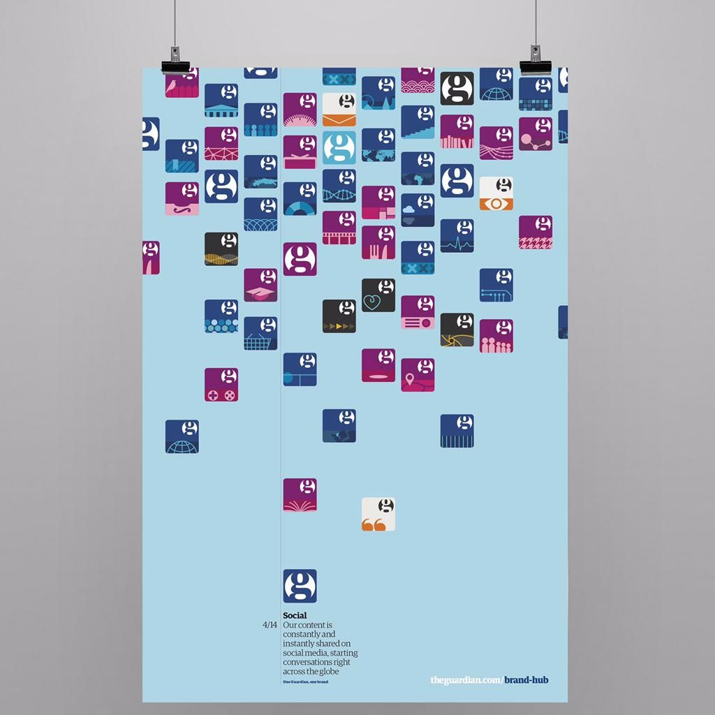 Poster design guidelines - Poster From Guardian New Brand Identity Guidelines