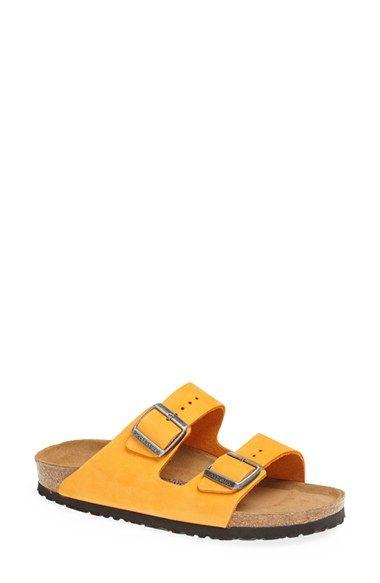 Birkenstock  Arizona  Soft Footbed Nubuck Sandal (Women)  80cff0405