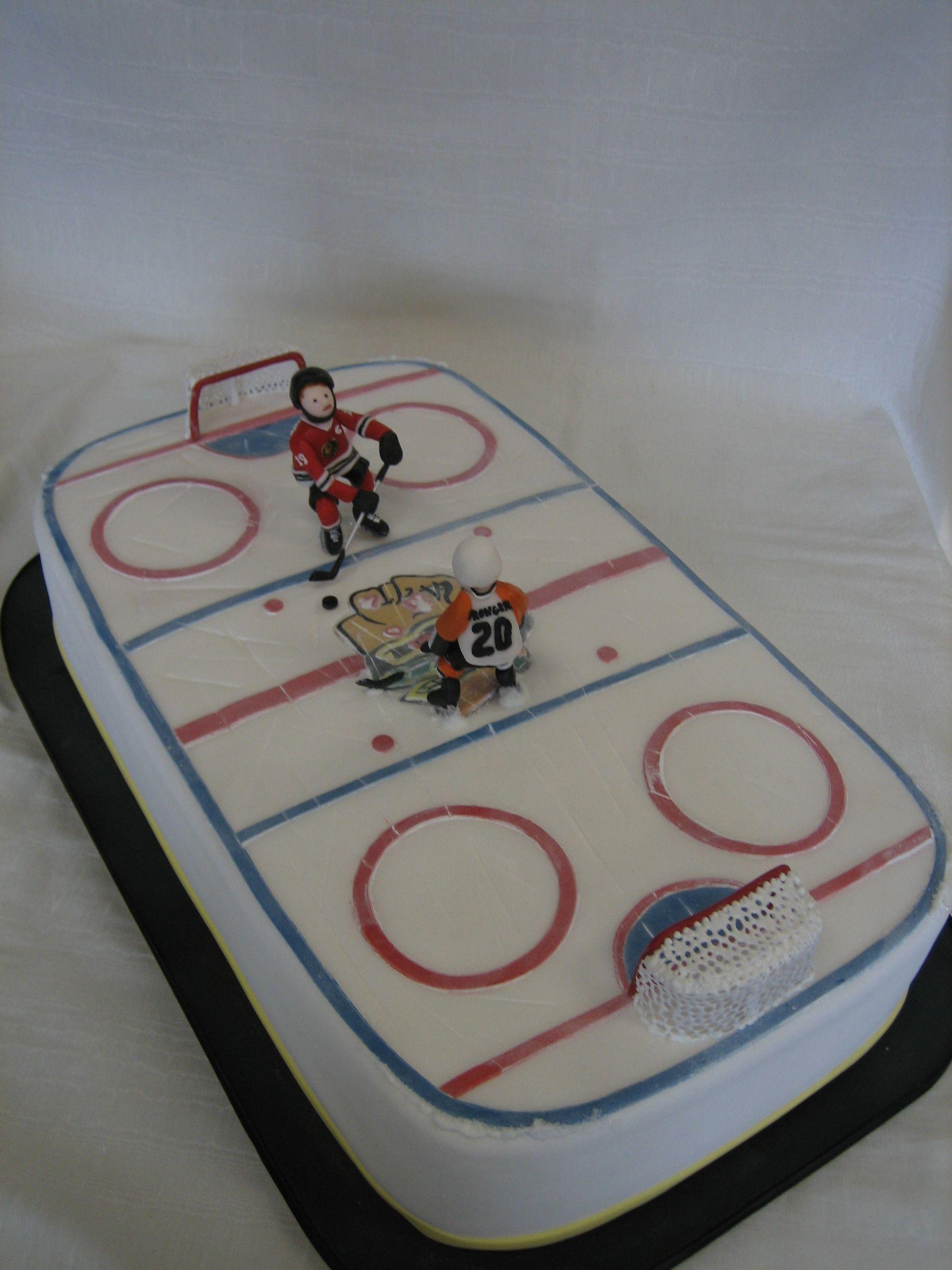 Home Amy Beck Cake Design Amy Beck Cake Design Hockey Birthday Cake Cake Design
