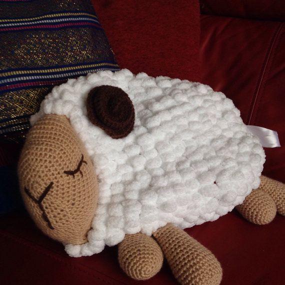 Crochet sheep Crochet amigurumi Crochet lamb toy by Verascrochet