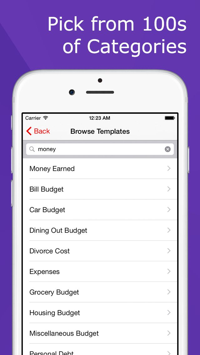 iphone app lumen trails money tracker budget planner expense