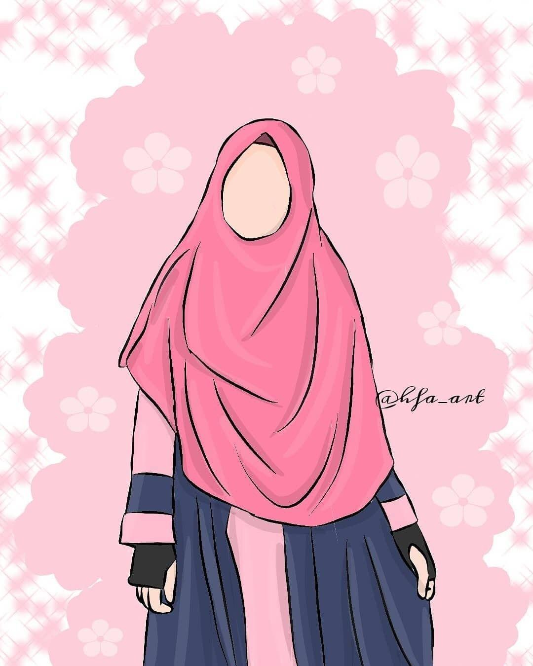 Pin Oleh Veni Jumila Danin Di Muslim Art Animasi Kartun Muslim