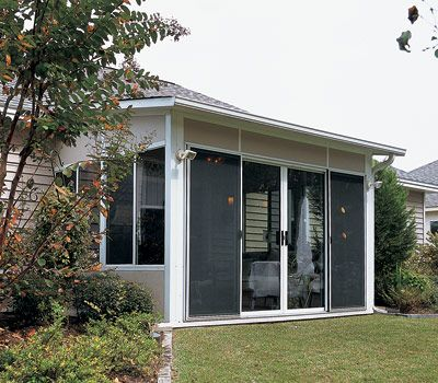 Enclosed Patio Cost | Economical Screen Enclosures And Screen Rooms From  Four Seasons Home .